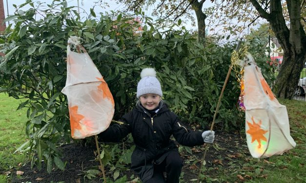 Annual 'Light Up the Hill' event held in Upper Wincobank Chapel hosted over 100 Sheffield locals