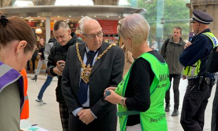 Sheffield Lord Mayor supports 'Real People Real Stories' campaign for World Mental Health Day 2019