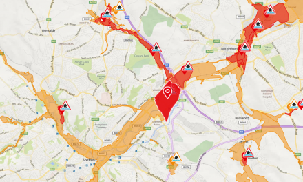 Flood warnings issued for Sheffield as schools closed and trains cancelled