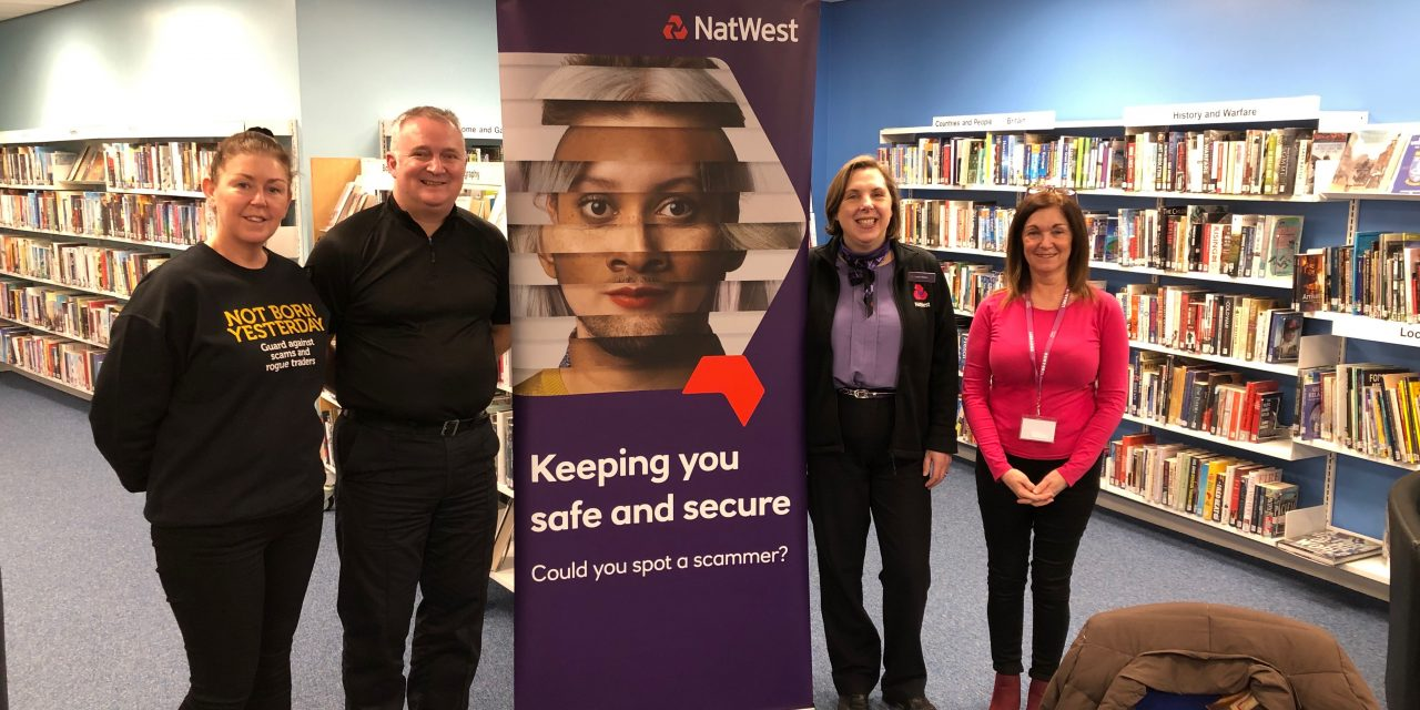 Drop in meetings to encourage the community to help one another stay safe online