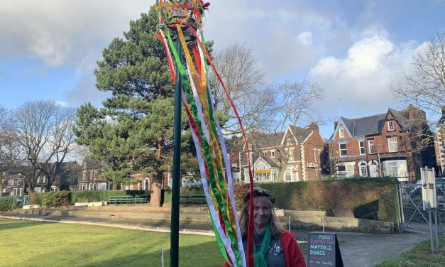 Hundred year-old Maypole returns to local community in wintertime